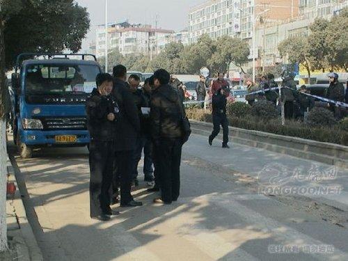 南京发生持枪抢案 劫匪打死储户携款潜逃