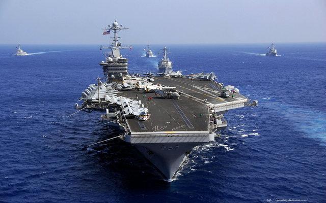 二战后首次!美军海外航母未来一周全部撤回本土