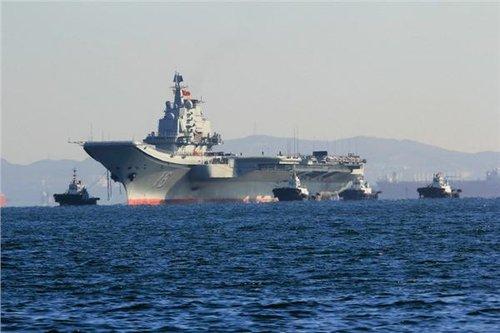 台军演模拟大陆航母从东部切断其运输通道