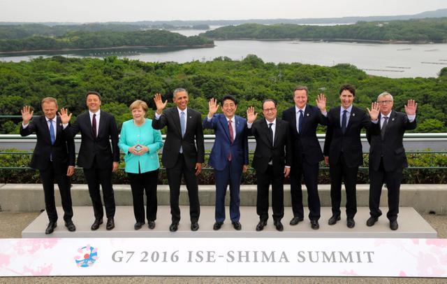 西方七国首脑峰会就南海激烈争吵 4国不愿得罪中国