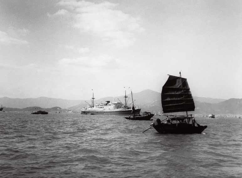 1957年,维多利亚港。