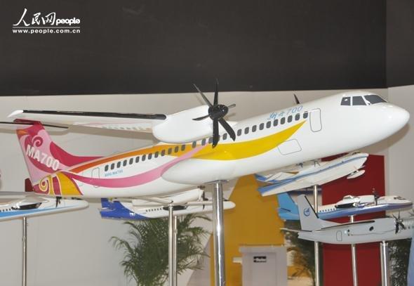 新一代涡桨支线飞机新舟700立项 2016年或首飞