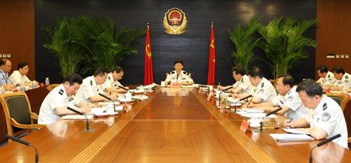 公安部学习胡锦涛七一讲话 践行人民公安为人民