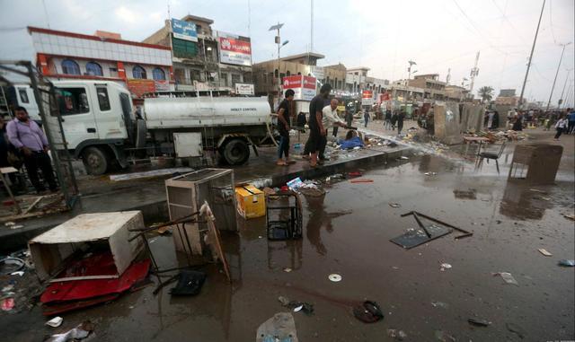 伊拉克首都以南发生自杀式汽车爆炸袭击 约80人丧生