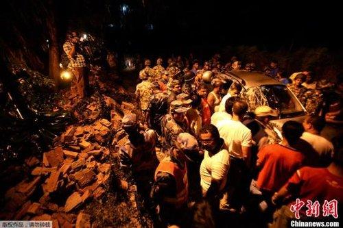 印度地震已致中国西藏亚东县7人死亡多人受伤