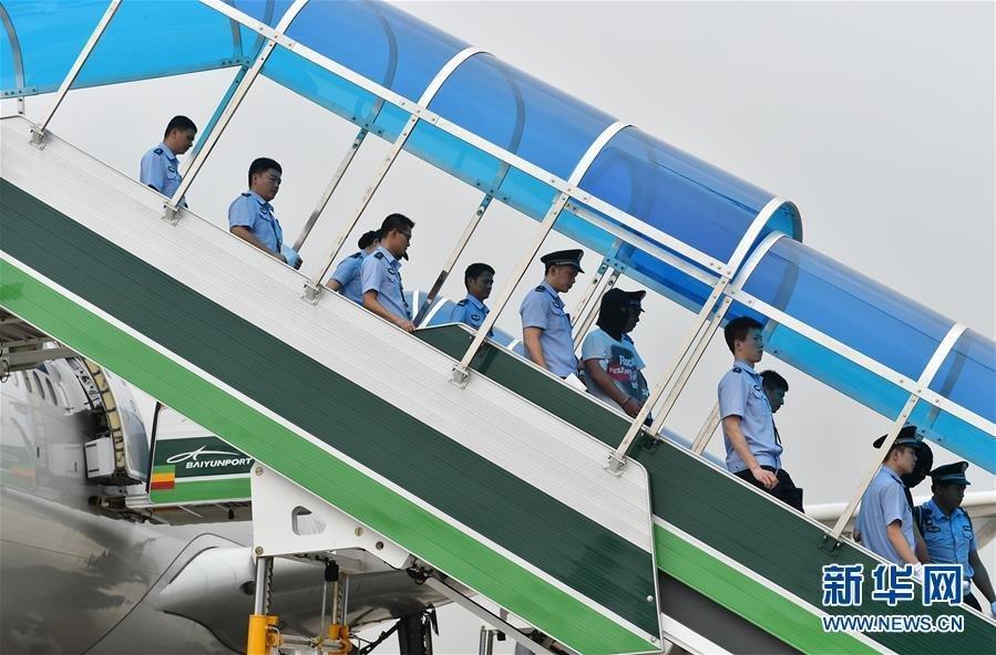 【图片新闻】129名电信网络诈骗犯被遣送回中国大陆 - 耄耋顽童 - 耄耋顽童博客 欢迎光临指导