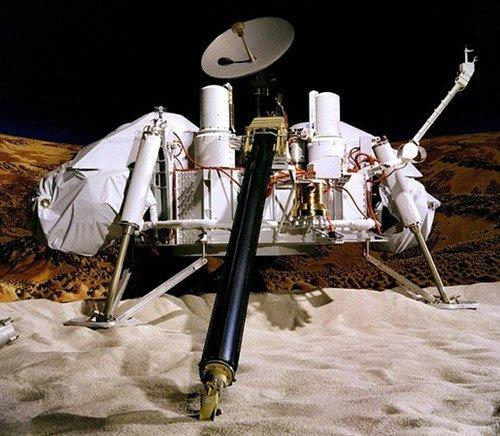 """资料图:""""海盗1号""""火星探测器"""