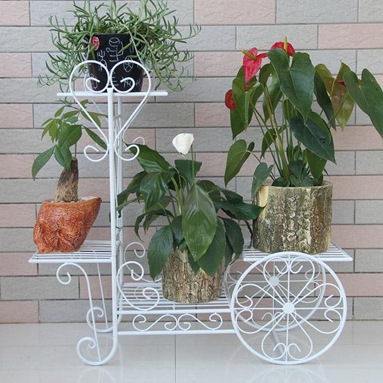15款精致的铁艺花架 让花儿更显千娇百媚
