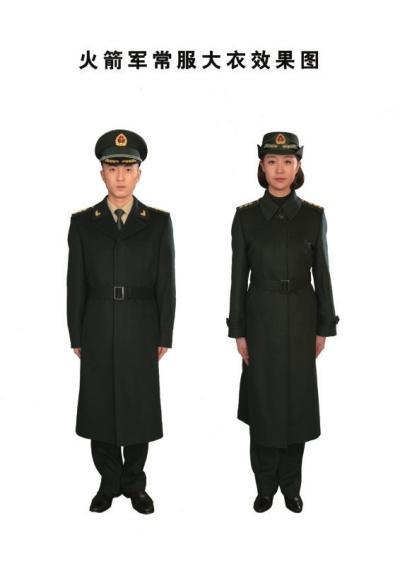 火箭军今起换发新军服 衬衣为国际经典色(图)