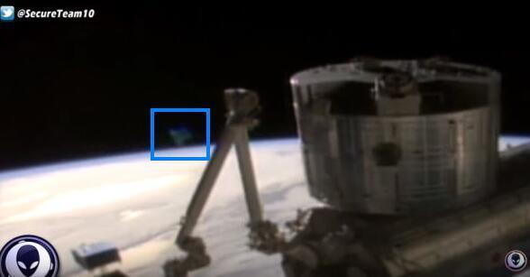 NASA直播视频现不明物体 画面立即中断(图)