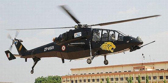 印度陆军将扩充陆航中队 计划配超500架直升机
