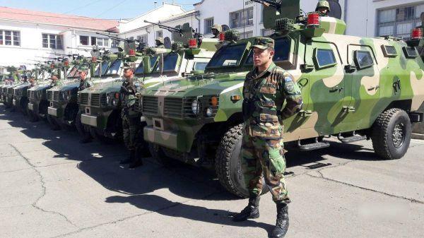中国向美国后院出口31辆装甲车 价值近800万美元