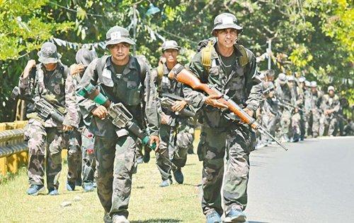 菲律宾向本国西部增派海军陆战队 强化南海军力