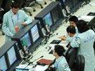 天宫一号发射前北京飞控中心倒计时准备