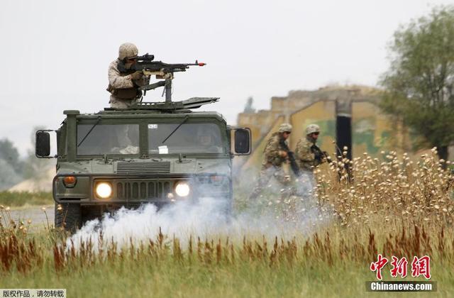 格鲁吉亚与北约举行联合军演 将达到旅级规模
