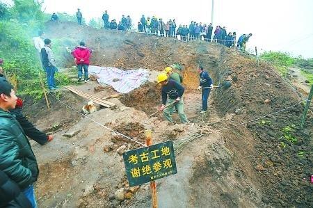 重庆发现明代早期精美古墓 墓主家境殷实(图)