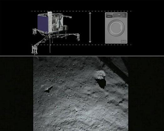 人类探测器首次登陆彗星 此前已在太空飞行10年