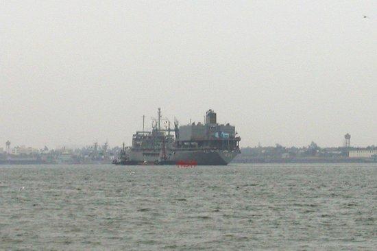 伊朗海军多艘战舰访问南海舰队湛江基地图片