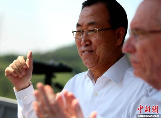 潘基文驳斥日本质疑他出席北京阅兵纪念活动
