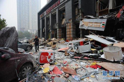 西安科创路餐饮店爆炸事故已造成9人死亡 34人在院治疗