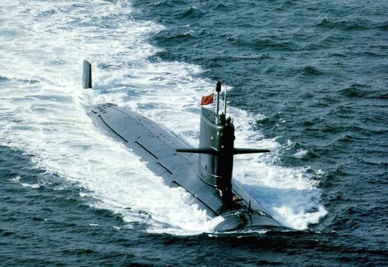 中国潜艇部队处于什么水平?