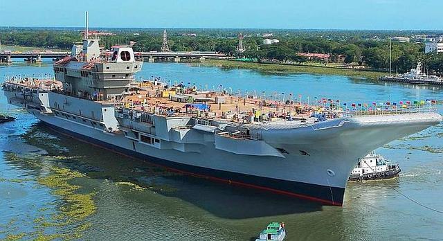"""望印度海军印度洋牵制中国?美军视察印海军后""""吓傻"""""""