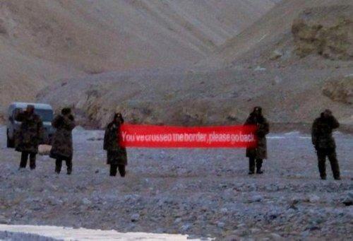 印媒称约百名解放军跨过实控线要求印度撤军