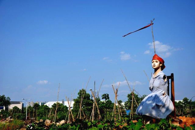 菜农的幽默 - 春风 - 多彩贵州