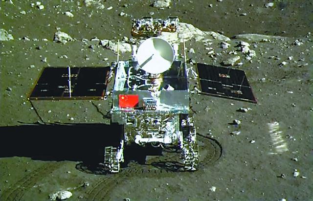 玉兔号月球车机构控制现异常 正在组织排查