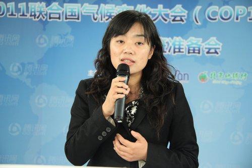 新奥集团品牌与公共关系部总经理李晓菲