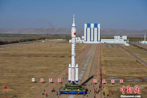 长征2F遥八火箭提前加注燃烧剂 将持续约10小时