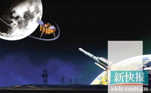 媒体解读嫦娥三号月球着陆关键:躲避障碍物