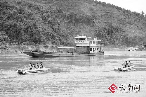 湄公河全面恢复通航 四国将更有力打击犯罪