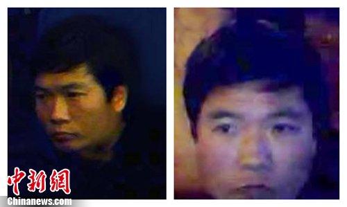 南京发生当街抢劫案 嫌疑犯照片公布