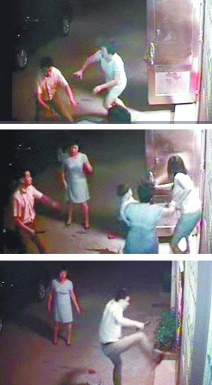 江苏靖江公安局官员之子刀砍邻居 致其肌腱断裂