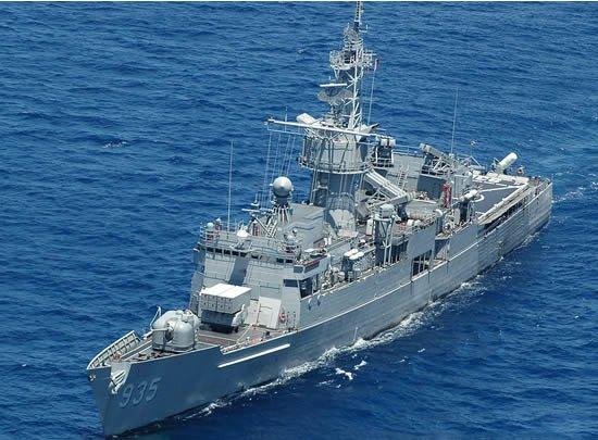 台湾海军或裁减6艘老舰 声纳一开机鱼都跳出水面