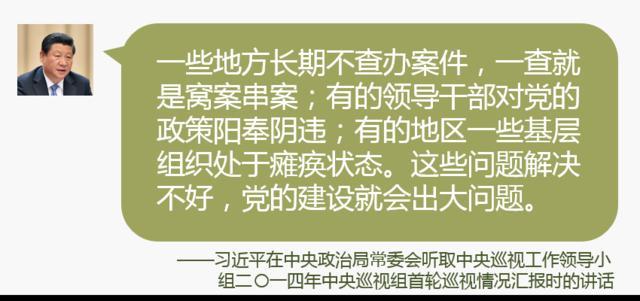 首次公开的习近平从严治党语录⑥:出事把挑子撂给纪委不行