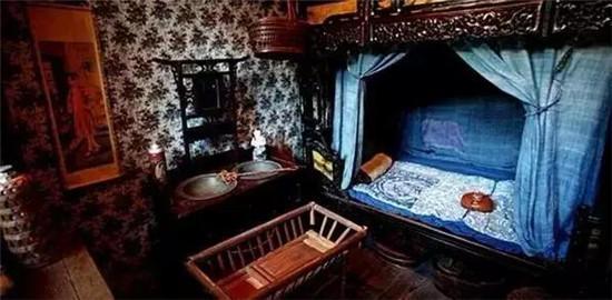 欧式壁纸,中式家具图片