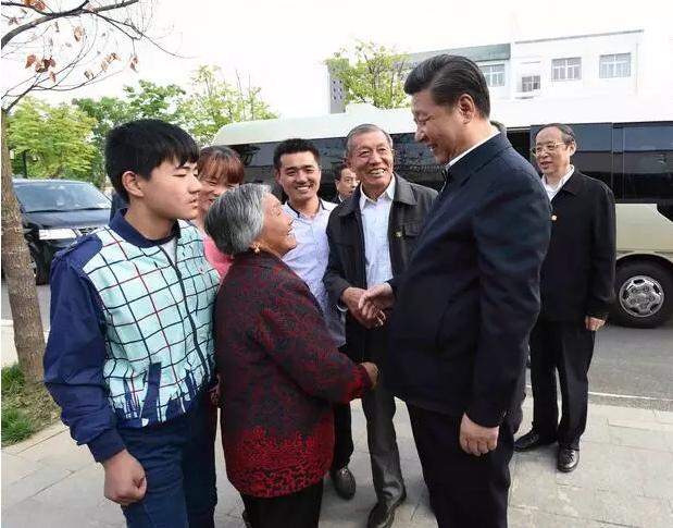 """习近平为何选择到小岗村""""重温改革""""?"""