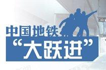 """数据控:中国地铁""""大跃进"""""""