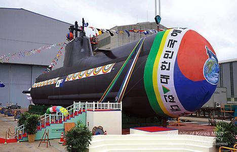 韩国海军修理厂一潜艇维修时发生爆炸 致军人3死1伤
