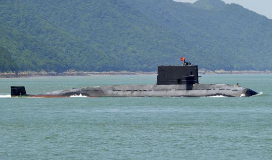 """041型""""元级""""潜艇体型、性能与日本苍龙级潜艇处于同一水平。"""