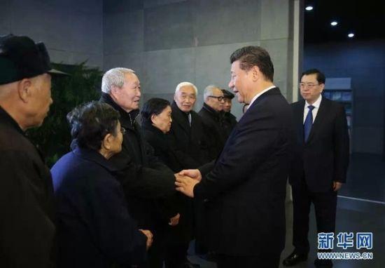 习近平参观南京大屠杀遇难同胞纪念馆提问68次