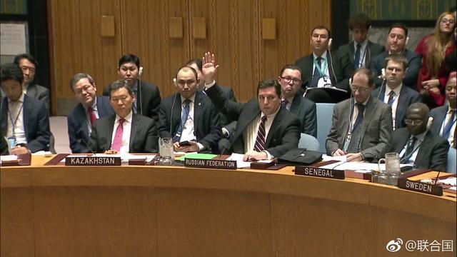 英美法提出叙化武问题决议草案 安理会表决未获通过