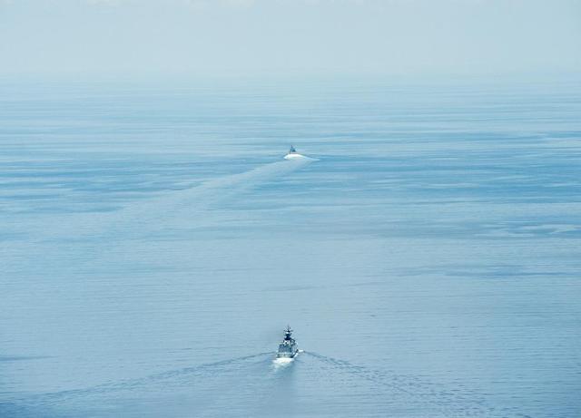 美军舰欲触碰中国南海红线 专家:可强力驱离