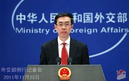 外交部发言人刘为民主持例行记者会