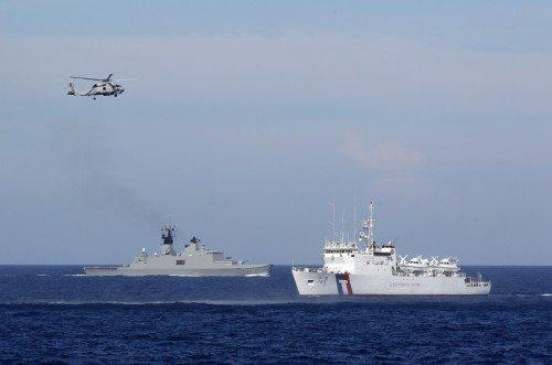 媒体称台军出兵巴士海峡暗防大陆海军进出大洋