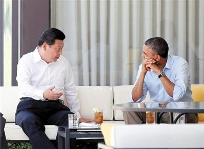 习近平奥巴马交流超8小时 会晤取得丰硕成果