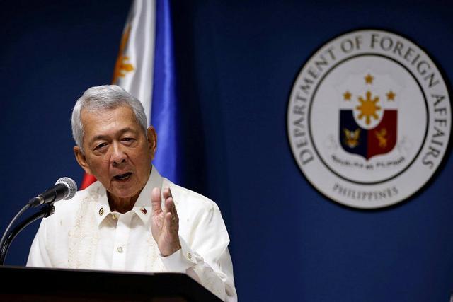 菲律賓外長要求美方尊重:不是美國永遠的小弟