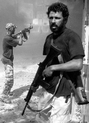 首都火速沦陷 卡扎菲为何不堪一击?